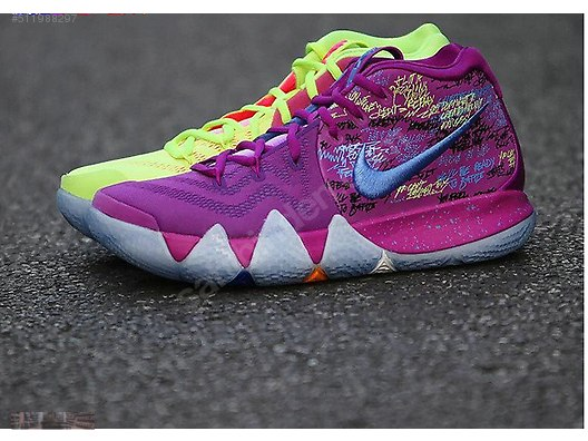 factory price 6af5a 51ea3 amazon nike kyrie 4 christmas confetti 385bd d3b39