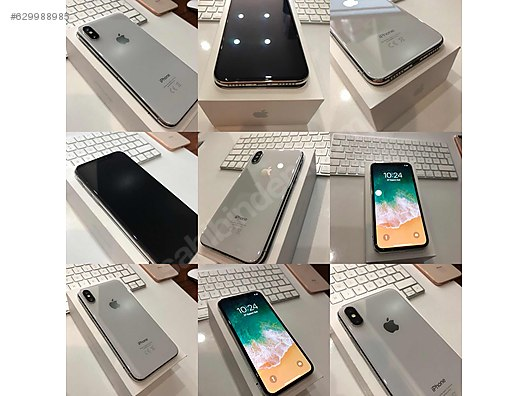 Secondhand and New Products / Cell Phones / Models / Apple / iPhone X