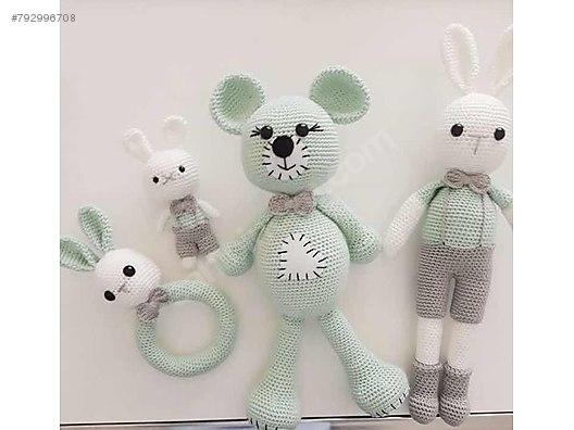 Amigurumi Oyuncak Ayı Yapımı - Free Pattern #crochet #amigurumi ... | 396x528