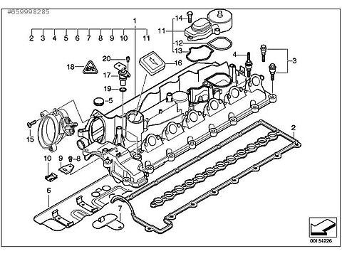 Cars Suvs Engine Bmw E60e65x3x5x6 M57n Klbtr Kapai
